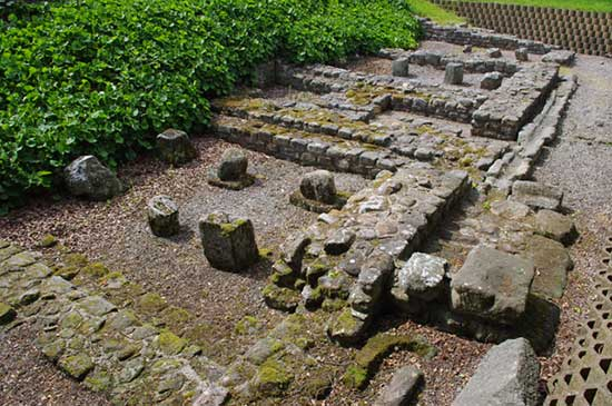 The Roman Remains at Ribchester