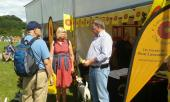 Royal Lancashire Show - enjoying a good natter