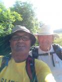 Lancashire Boundary Walk - Philip Walsh (Chiarman) & Bill Lloyd (Treasurer)