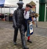 Mike Chapman and friend Leyland Market