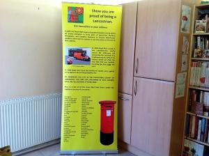 New Post Office Banner for Friends of Real Lancashire