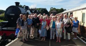 Sidmouth and District Lancastrian Association's day out