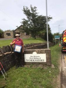 Lancashire Boundary Walk - Back on Track - Day 10