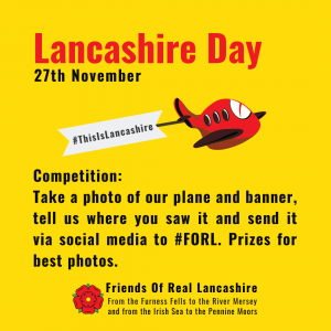 Lancashire Day Fly Over - Update
