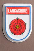 Lancashire Red Rose Fridge Magnet