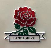New Red Rose Lancashire Fridge Magnet