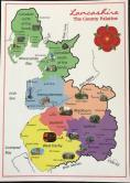 New Lancashire Hundreds Postcard