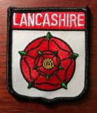 Lancashire Red Rose Cloth Badge